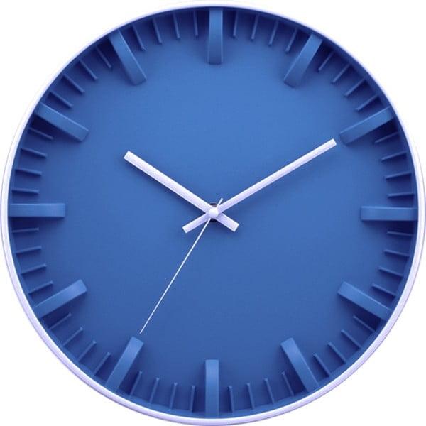 Zegar Blue Minimalistic, 30 cm