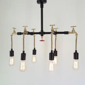 Lampa wisząca z 6 żarówkami Cesme