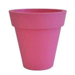Doniczka Samantha 30x30 cm, różowa