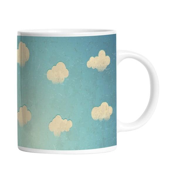 Ceramiczny kubek White Clouds, 330 ml