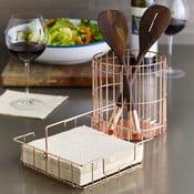 Metalowy stojak na akcesoria kuchenne Design Ideas Lincoln
