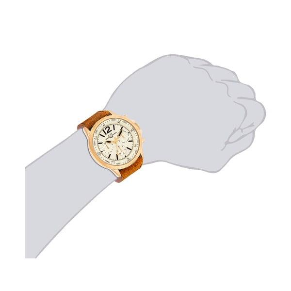 Zegarek męski Spike Brown Gold