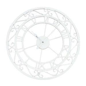 Zegar ścienny Metall White, 55 cm