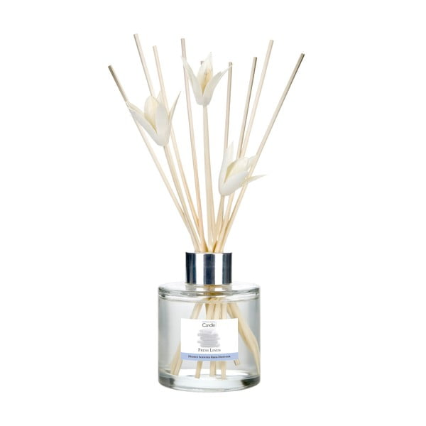 Dyfuzor zapachowy o zapachu świeżego prania Copenhagen Candles Fresh Linen, 100 ml