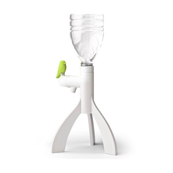 Stojak na butelkę plastikową QUALY Thirsty Bird, zielony