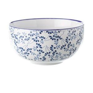 Niebiesko-biała miska Unimasa Meadow