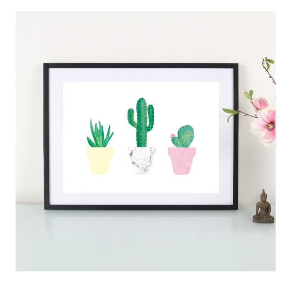 Plakat Kaktusliebe, A3