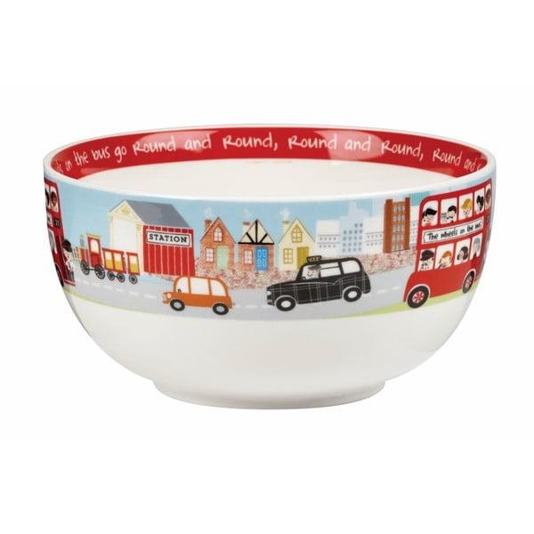 Zestaw śniadaniowy dla dzieci Churchill China China Wheel, 4 szt.