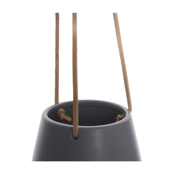 Szara wisząca doniczka PT LIVING Skittle, ⌀ 12,2 cm