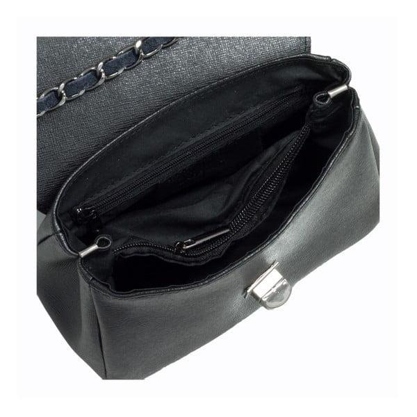 Czarna torebka skórzana Giorgio Costa Enrichetta