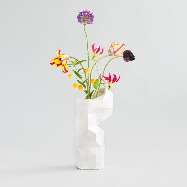 Papierowy wazon White