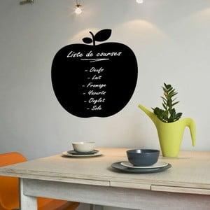 Naklejka tablicowa z markerem kredowym Ambiance Apple Blackboard
