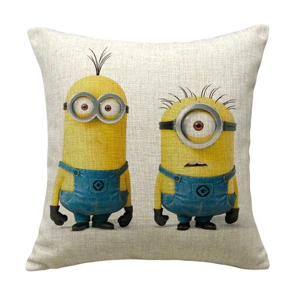 Poszewka na poduszkę Minion Friends, 45x45 cm