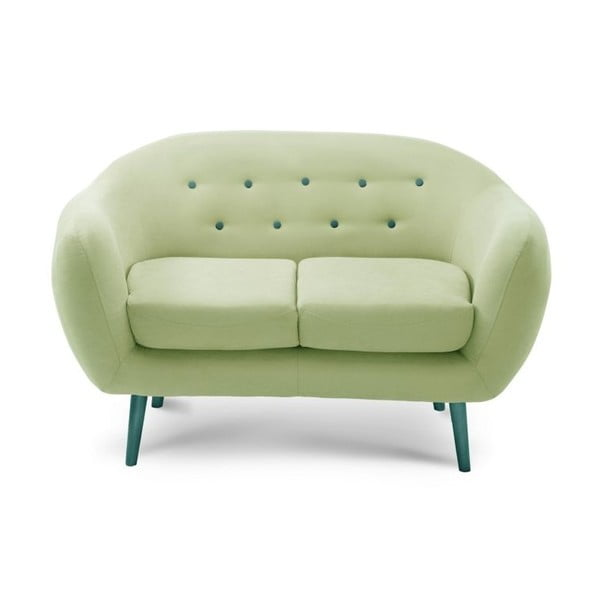 Sofa dwuosobowa Constellation Pistachio Green/Turquoise/Turquoise