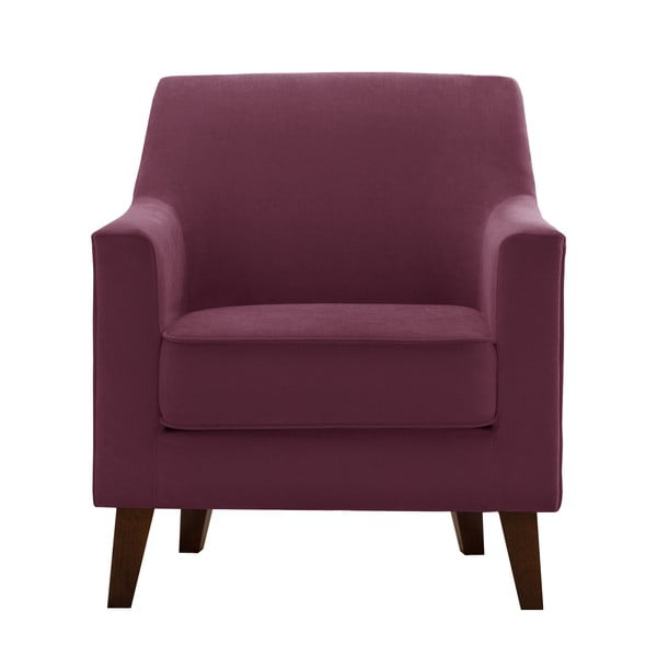 Bordowy fotel Jalouse Maison Kylie