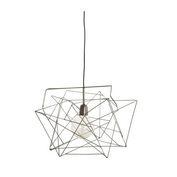Lampa/klosz Assymetric Gunmetal