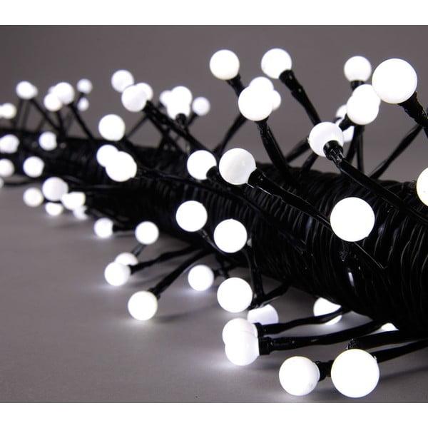 Świecący łańcuch Beads White