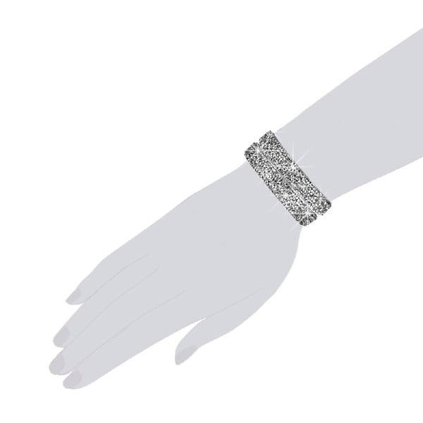 Bransoletka Silver Shine, 42 cm