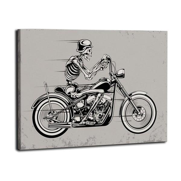 Obraz Kustucha na motorze, 50x70 cm
