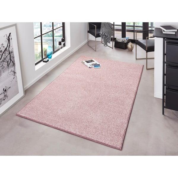 Różowy dywan Bougari Pure, 200x300 cm