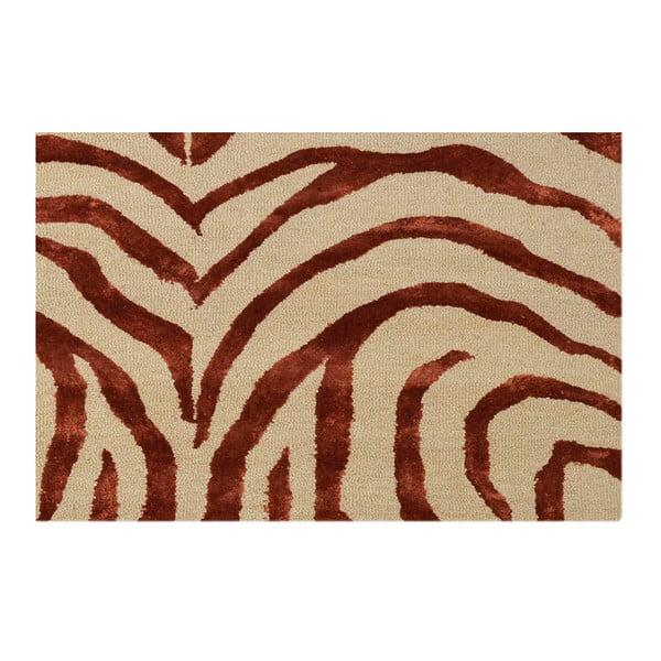 Dywan zebra Rust, 153x244 cm
