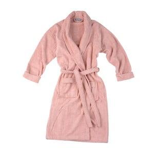 Różowy szlafrok Walra Mila, S/M