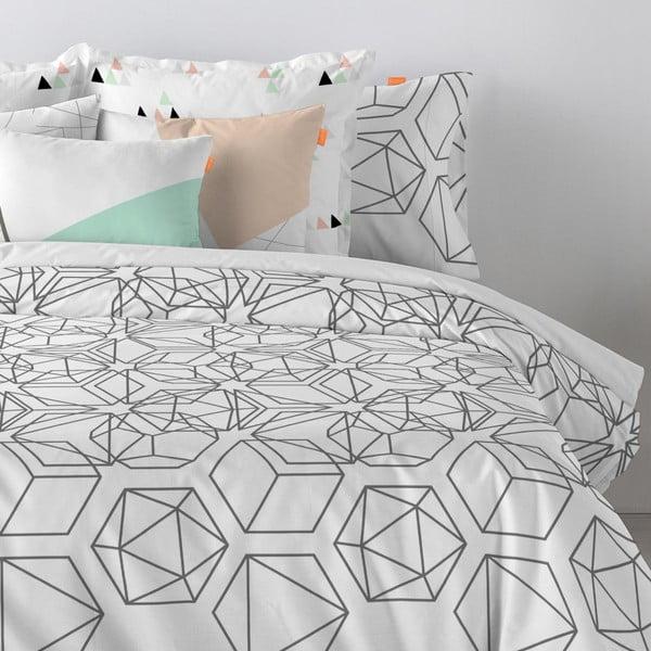 Bawełniana poszewka na poduszkę Blanc Jewel, 60x60cm