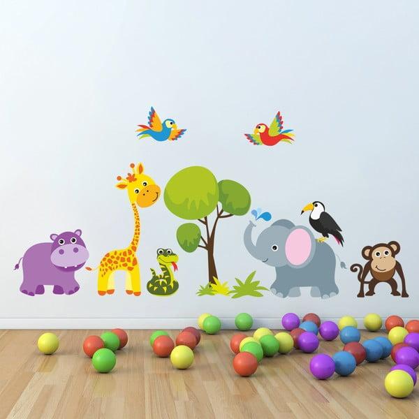 Naklejka dekoracyjna na ścianę Jungle