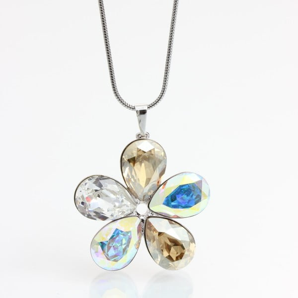 Naszyjnik Laura Bruni Swarovski Elements Flower AB
