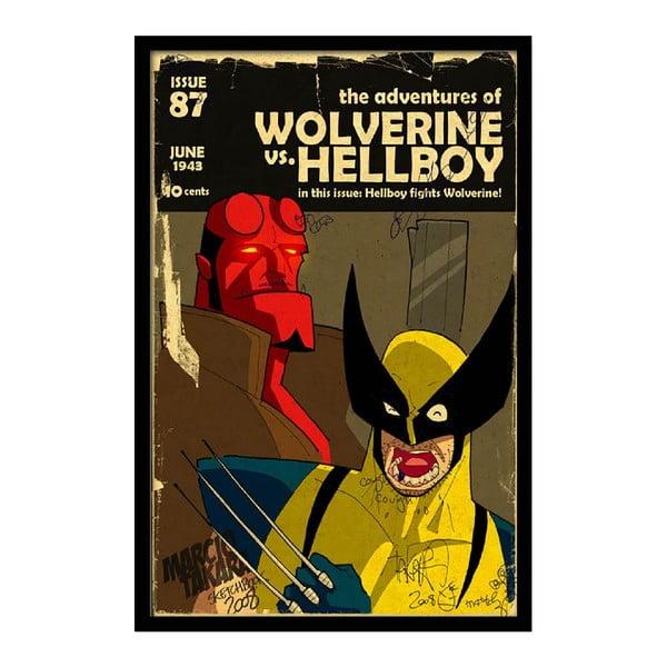 Plakat Wolverine, 35x30 cm