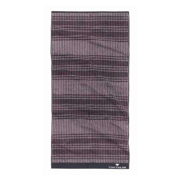 Ręcznik Tom Tailor Code Dark Grey, 50x100 cm
