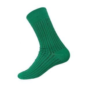 Skarpetki Mini Dots Green, rozm. 40-44