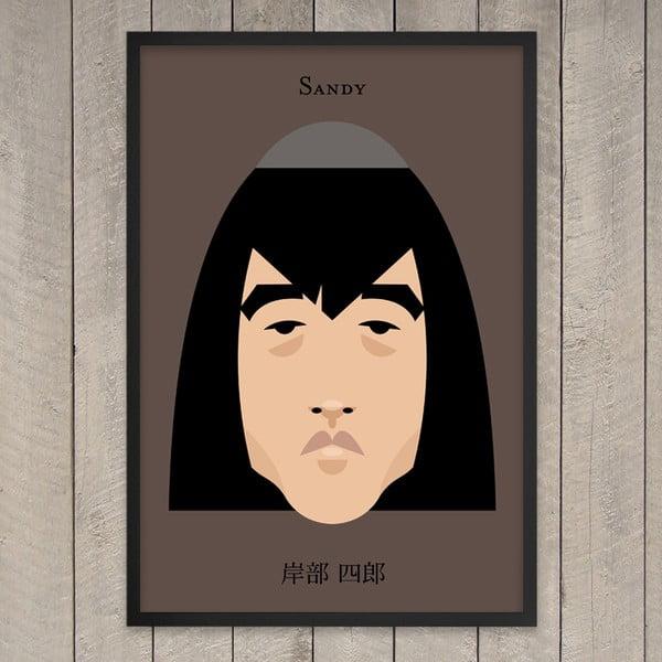 "Plakat ""Sandy"", 29,7x42 cm"