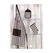 Zestaw fartucha i rękawic kuchennych Florentina Oksana