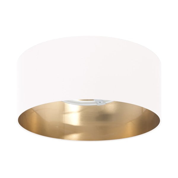 Lampa sufitowa Gold Inside White