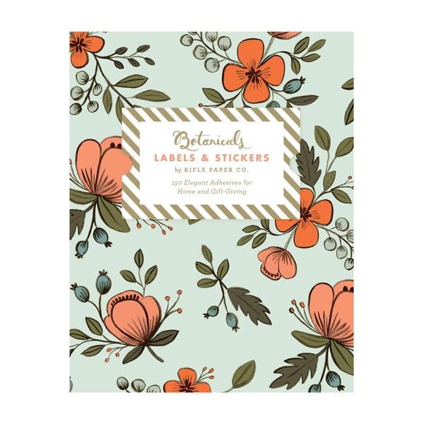 Naklejki Chronicle Books Botanicals Labels & Stickers, 150 sztuk