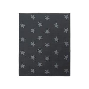 Dywan City & Mix - szary w gwiazdy, 140x200 cm