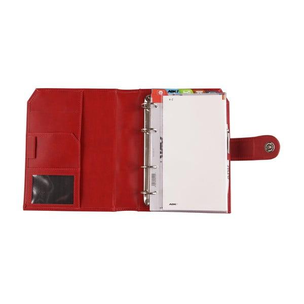 Kalendarz na rok 2016 AKD Practic, czerwony, rozm. A5