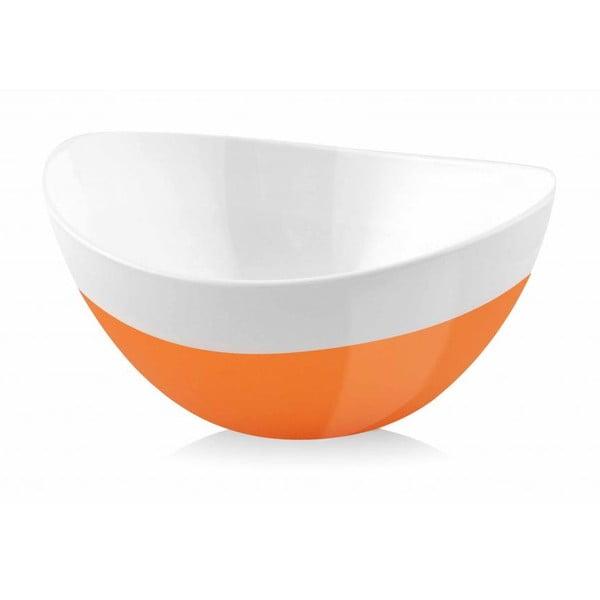 Miska Livio, pomarańczowa, 15 cm