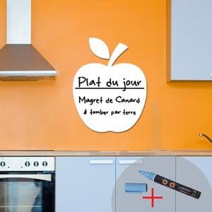 Tablica samoprzylepna z kredowym flamastrem Fanastick Apple