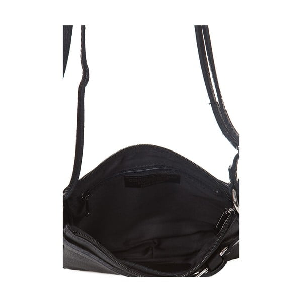 Czarna torebka skórzana Markese Vita