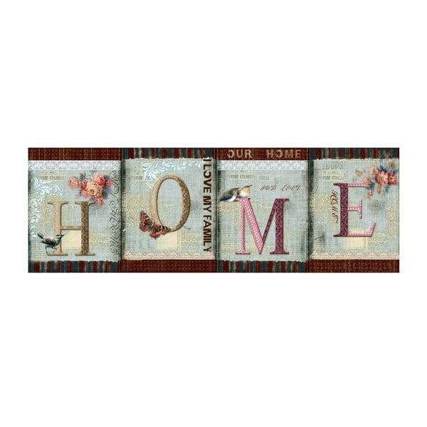 Obraz Home, 90x30 cm