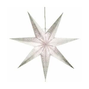Gwiazda świecąca Antique Snow, 80 cm