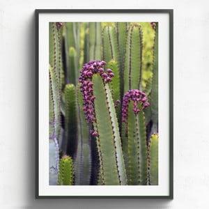 Obraz w drewnianej ramie HF Living Remedios, 50x70 cm