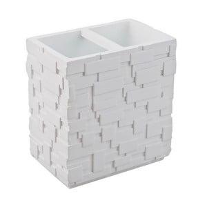 Biały kubek na szczoteczki Tomasucci Wall