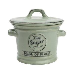 Zielony pojemnik porcelanowy na cukier T&G Woodware Pride of Place