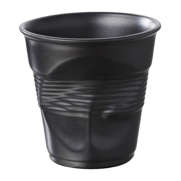 Filiżanka na capuccino Froisses 18 cl, czarna