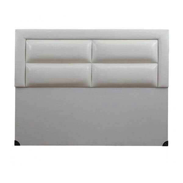 Zagłówek łóżka Comfort White, 120x150 cm