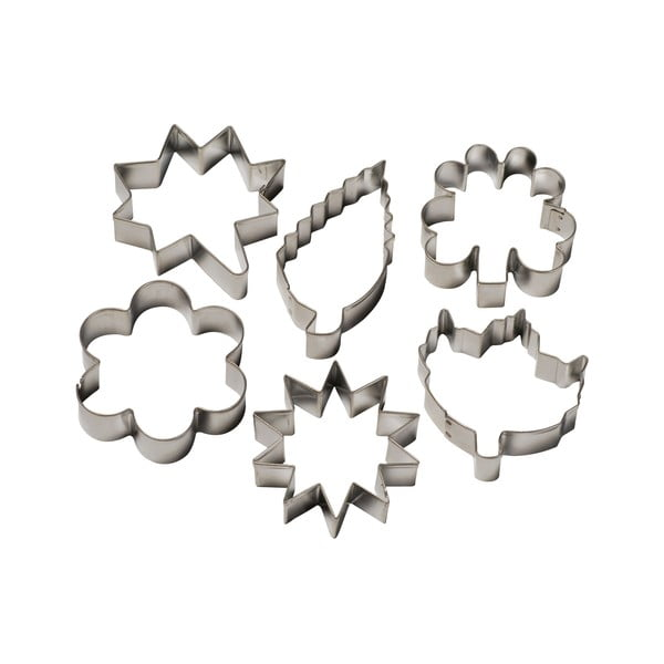 Foremki Cookie cutters Flowers & Leaves