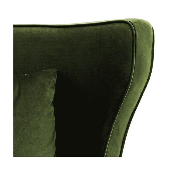 Oliwkowy fotel Vivonita Douglas Love